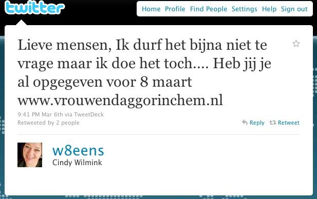 tweet w8eens