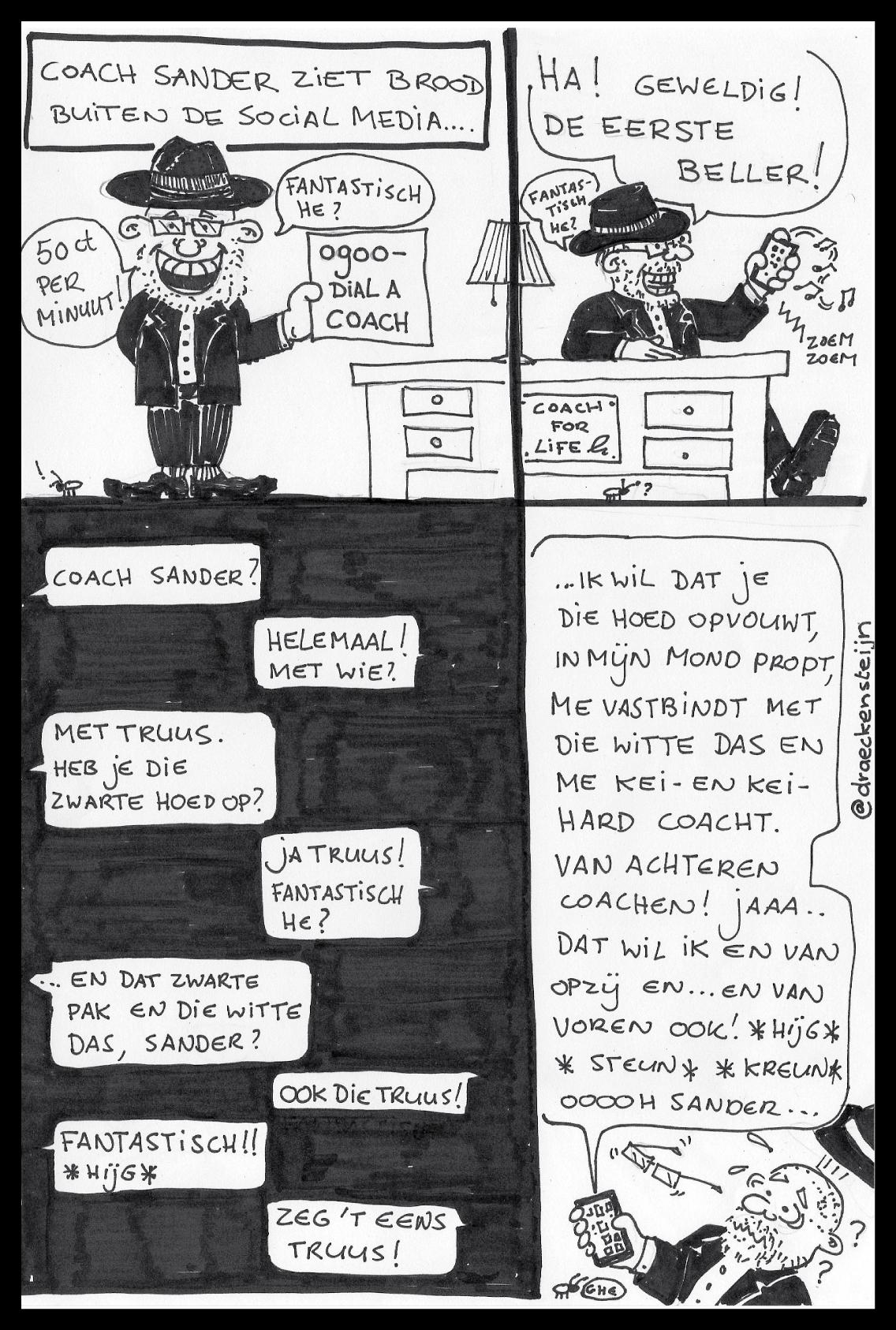 Cartoon CoachSander