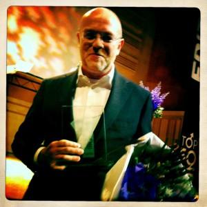 CoachSander met Frits publieks award