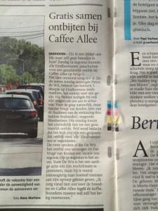 ED, 2012-07-13, Gratis samen ontbijten bij Caffee Allee